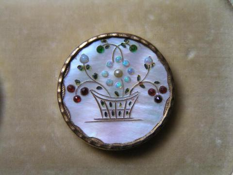 Late 18th Century Button - Probably French